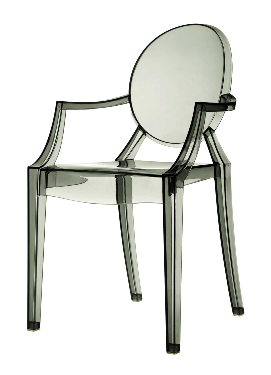Eldridge Crystal Chair - Smoke