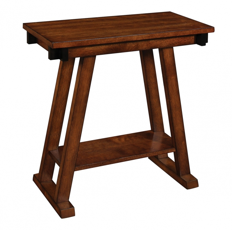 900625 Accent Table - Warm Brown