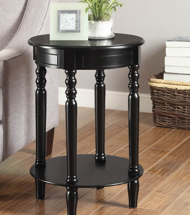 900857 Accent Table - Black
