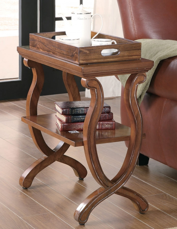 900974 Chairside Table - Coaster