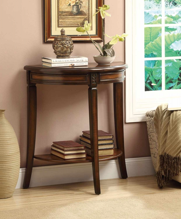 901025 Entry Table - Dark Cherry