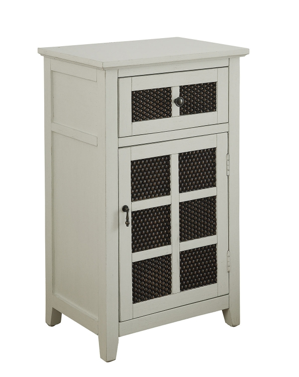 901503 Accent Cabinet - Antique White