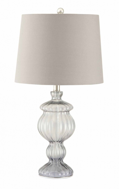 901524 Table Lamp - Smoked Glass