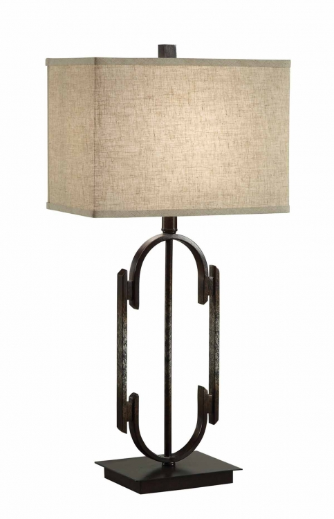 901534 Table Lamp - Dark Bronze/Antique Silver