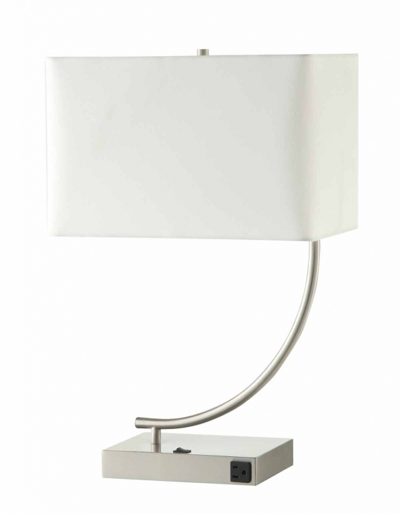 901537 Table Lamp - Stain Nickel
