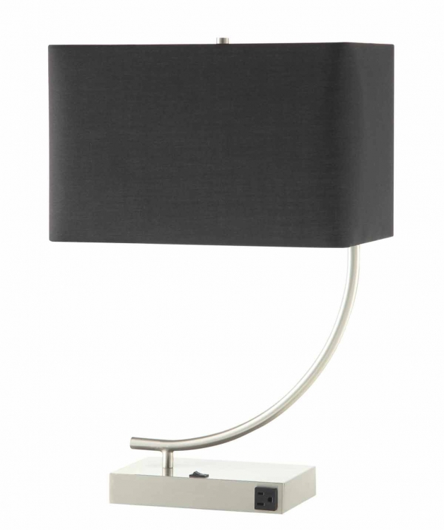 901538 Table Lamp - Stain Nickel