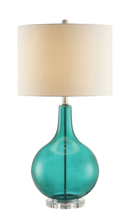 901554 Lamp - Green/White