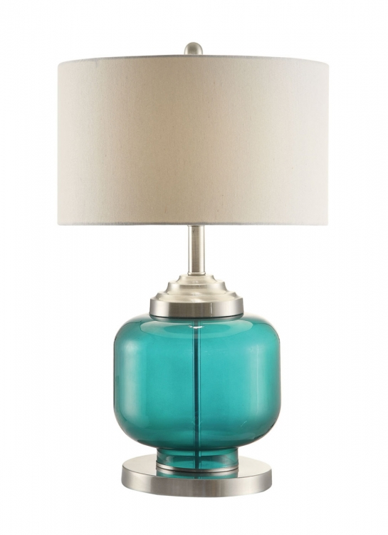 901561 Lamp - Green/White