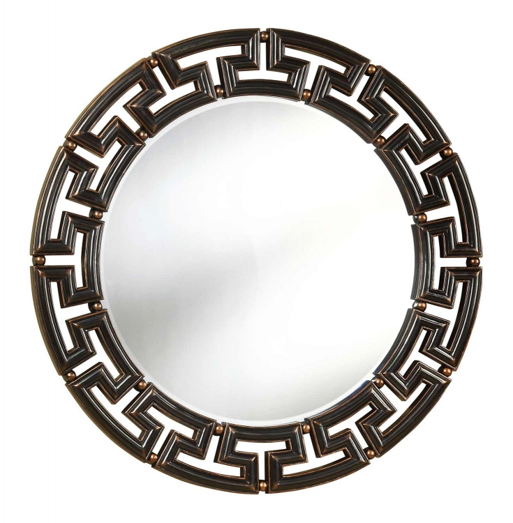 901795 Mirror - Antique Brown