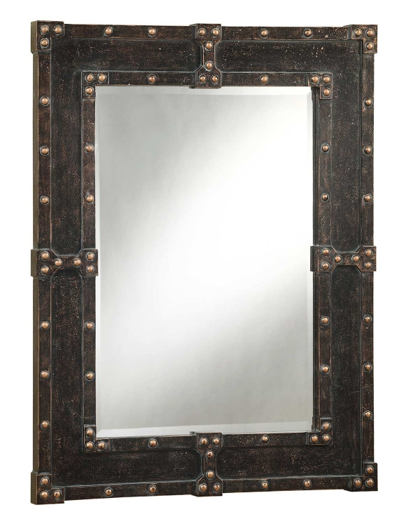 901799 Mirror - Antique Brown