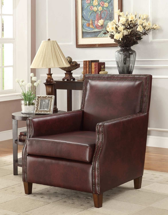 902157 Accent Chair - Brown