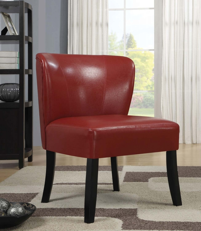 902186 Accent Chair - Red