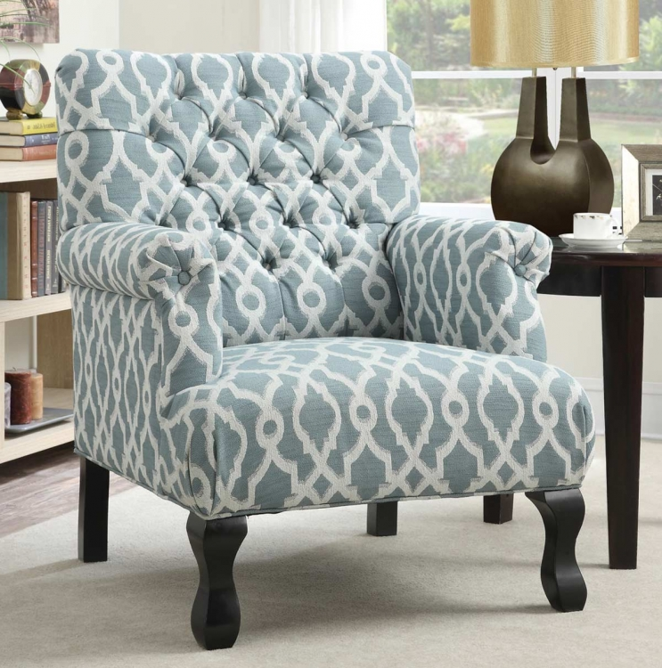 902406 Accent Chair - Blue