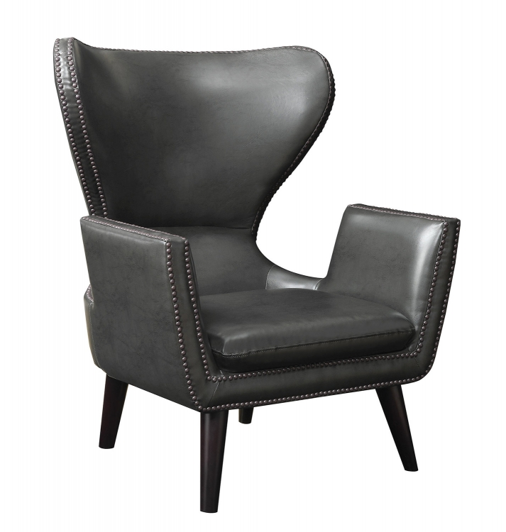 902409 Accent Chair - Charcoal