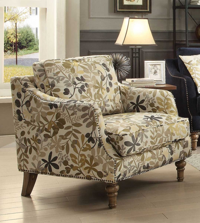 Vessot Accent chair - Ink Blue