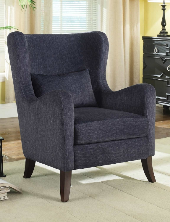 902684 Accent Chair - Indigo