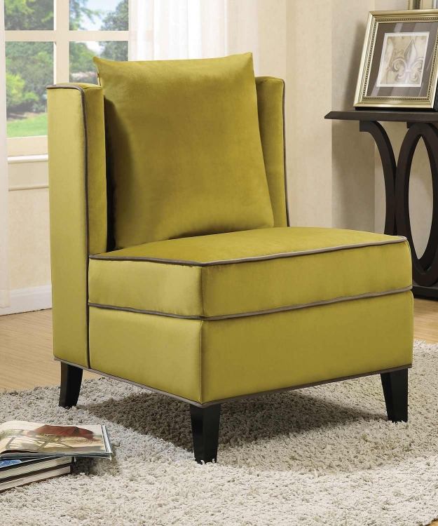 902709 Accent Chair - Chartreuse