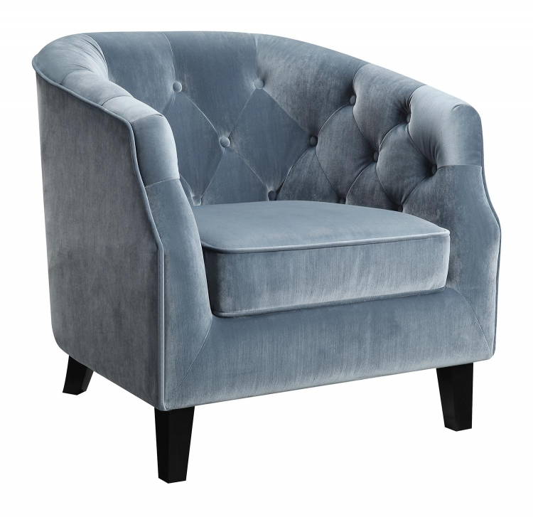 902711 Accent Chair - Dusty Blue