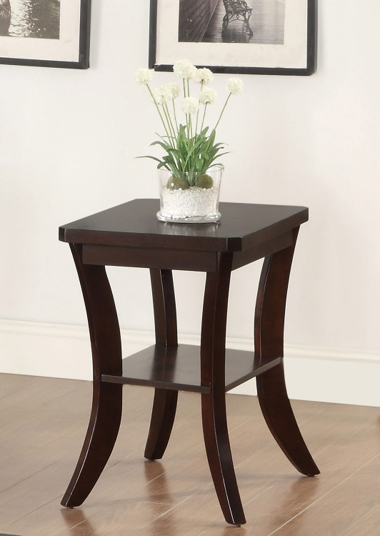 902808 Chairside Table - Espresso