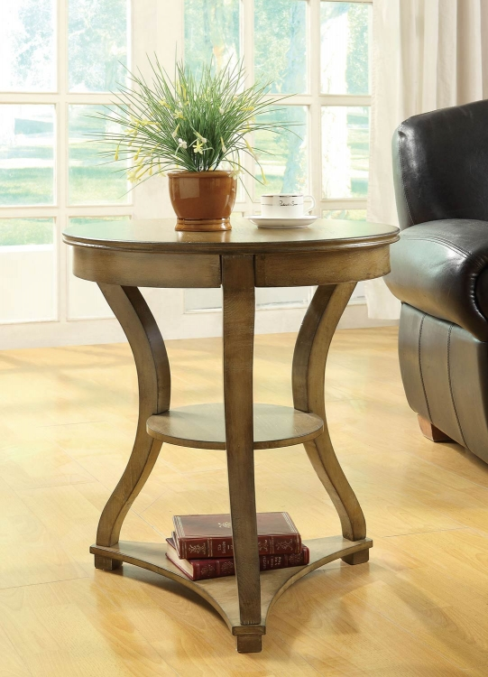 902832 Accent Table - Antique Pine