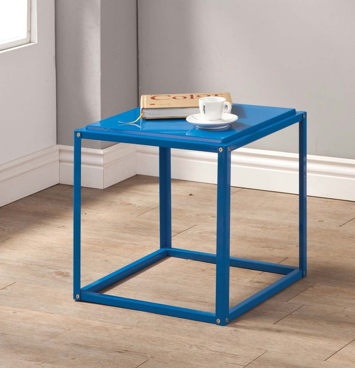 902846 Accent Table - Blue