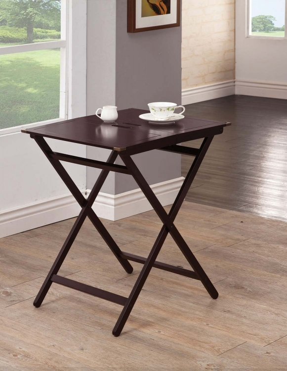 902857 Tray Table - Cappuccino