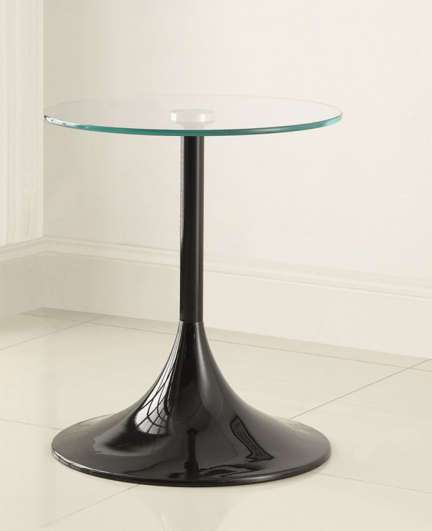 902874 Snack Table - High Gloss Black