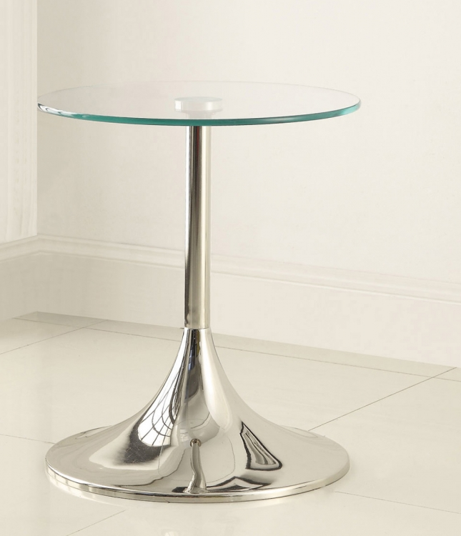 902875 Snack Table - Nickel