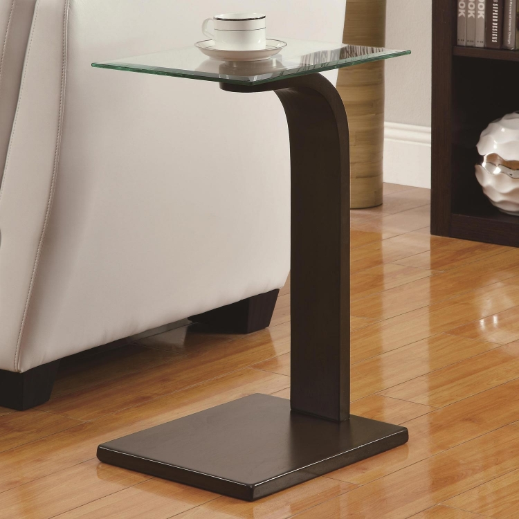 903301 Accent Table - Dark Brown