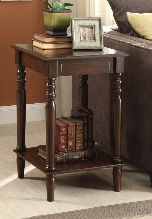 903341 Accent Table - Brown Red