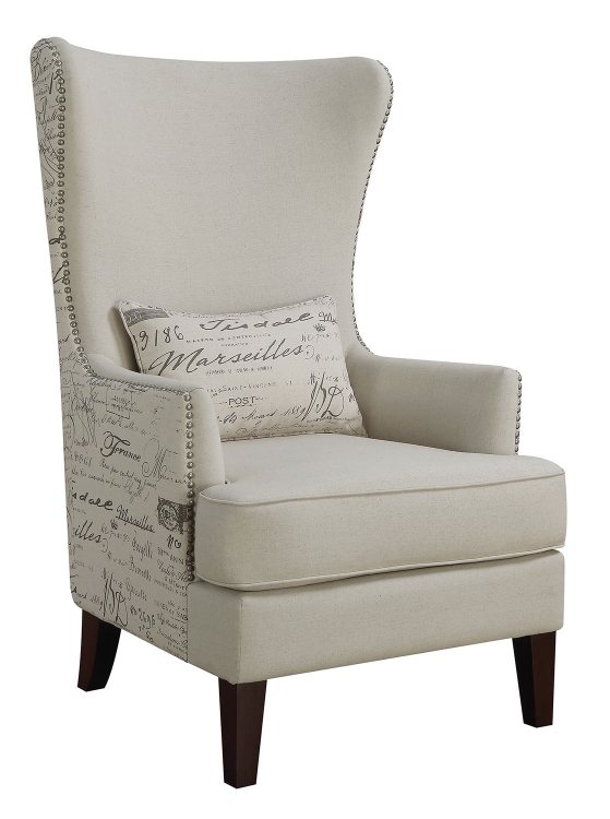 904047 Accent Chair - Cream