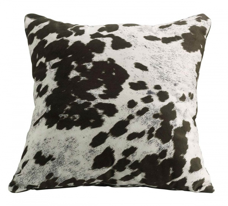 905068 Accent Pillow - Brown Cow