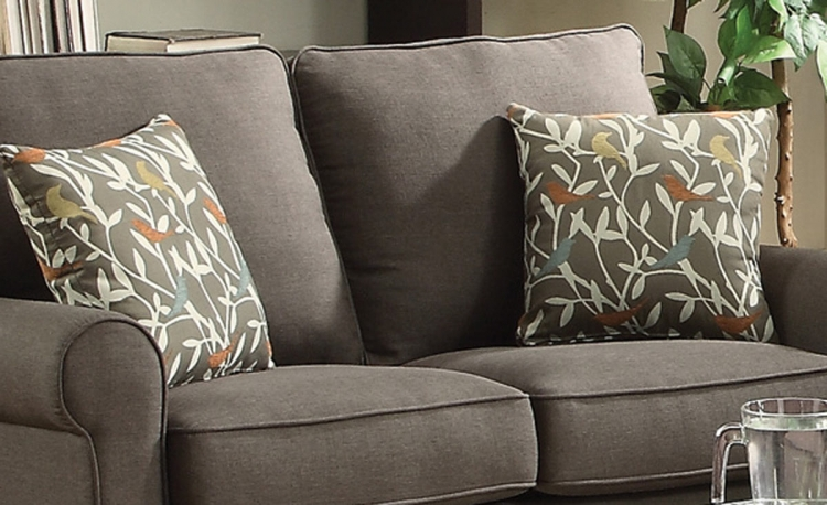 Noella Accent Pillow - Grey
