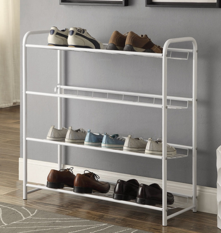 950017 Shoe Rack - White