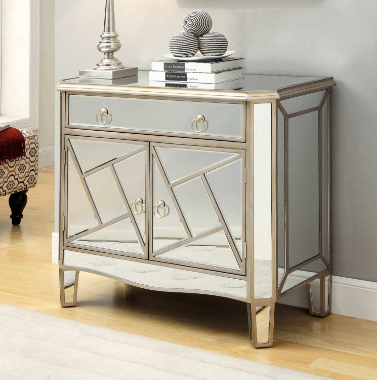 950041 Accent Cabinet - Champagne