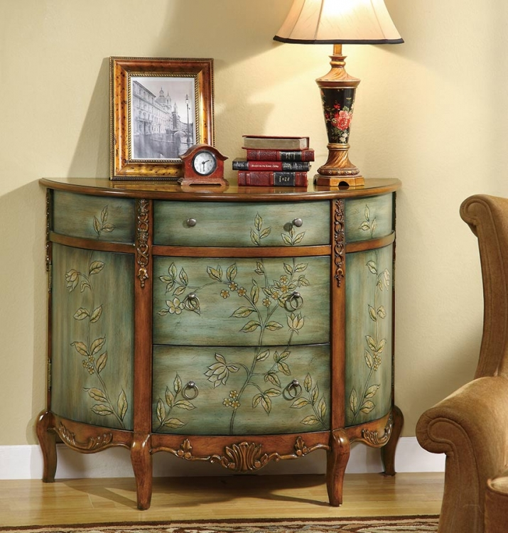 950115 Antique Accent Cabinet - Coaster