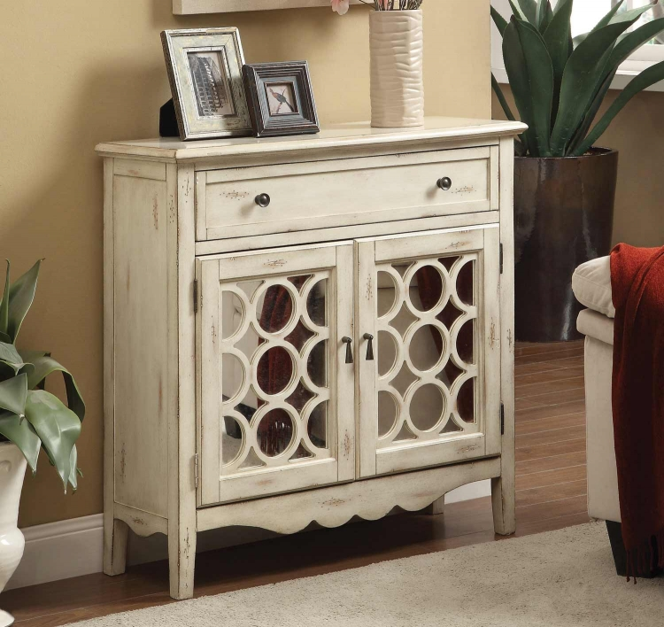 950143 Accent Cabinet - Antique white