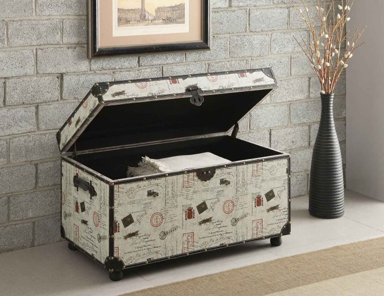 950168 Storage Trunk - Off - White