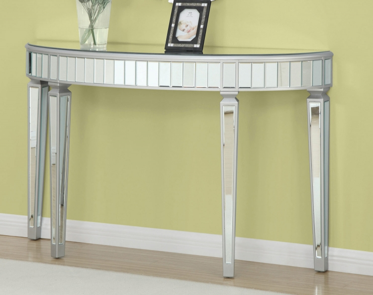 950183 Console Table - Silver/Gold