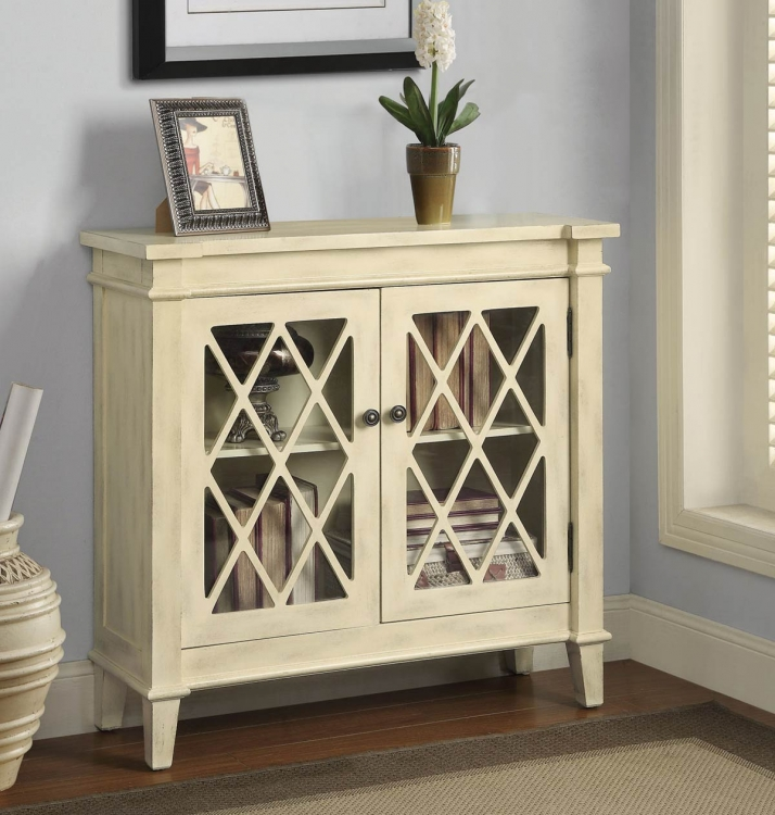 950316 Accent Cabinet - Antique White