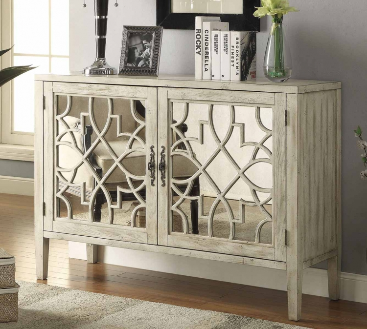 950321 Accent Cabinet - Antique White