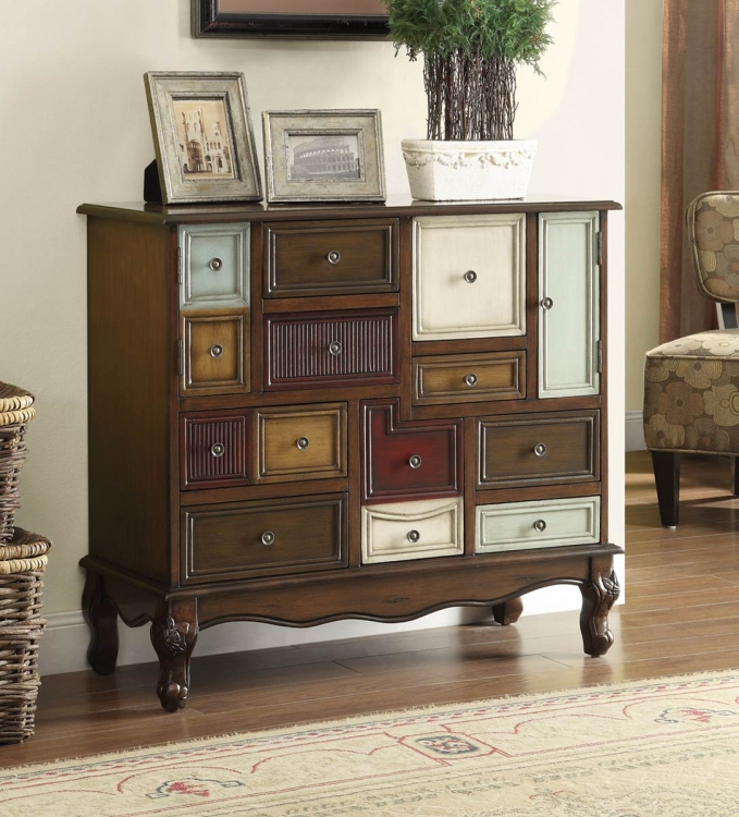 950327 Accent Cabinet - Brown