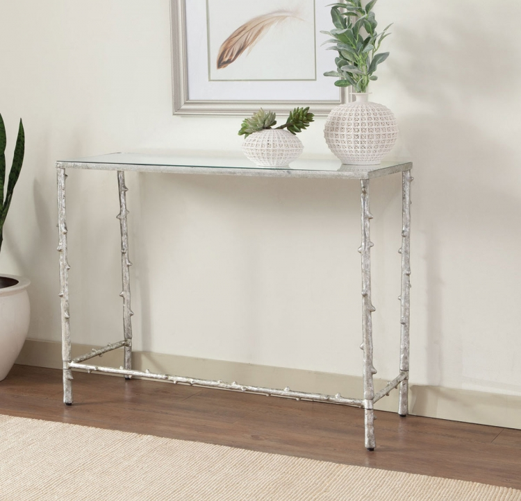 950359 Console Table - Silver