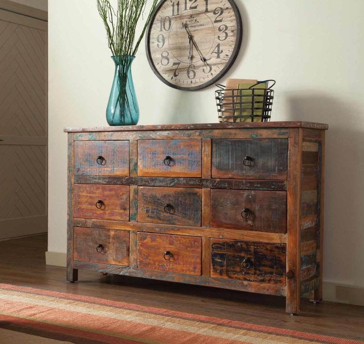 950365 Cabinet - Reclaimed Wood