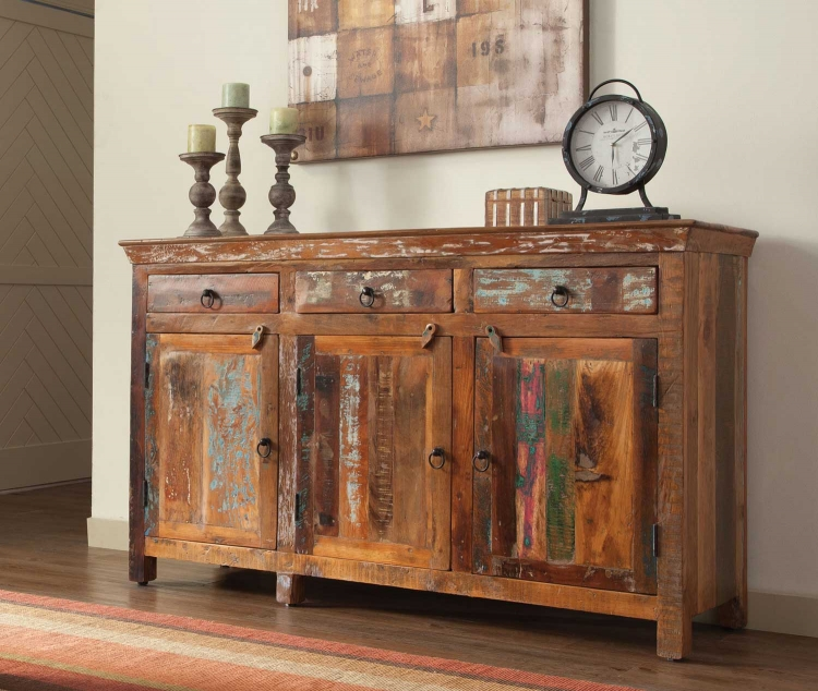 950367 Cabinet - Reclaimed Wood