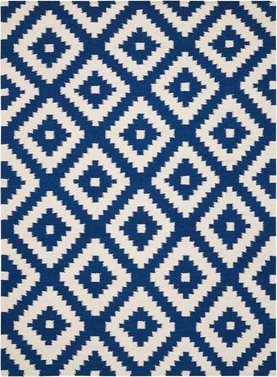 970211 Small Rug - Blue