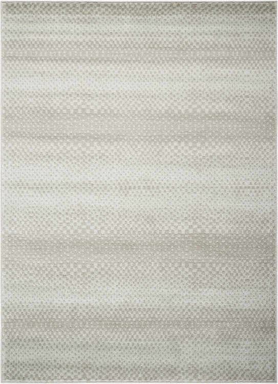 970219 Small Rug - Multi-Tonal Light Blue/Grey