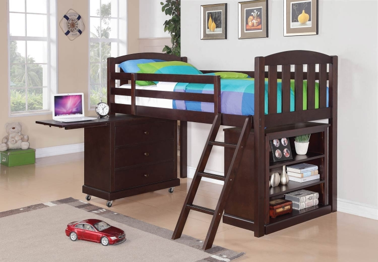 Coaster Bunk Bed and Loft