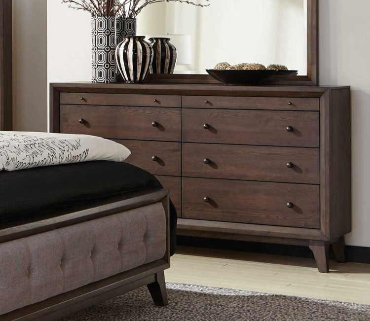Bingham Dresser - Brown Oak
