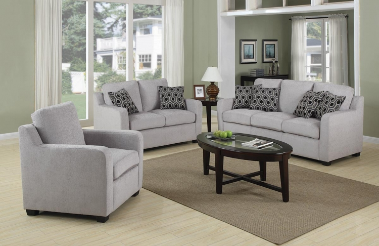 Charlotte Living Room Set - Coaster